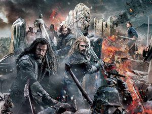 Le Hobbit: La Bataille des Cinq Armées.