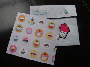 Enveloppe - Cup Cake