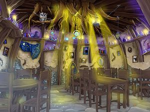 The Flaming Feather, restaurant © Toverland