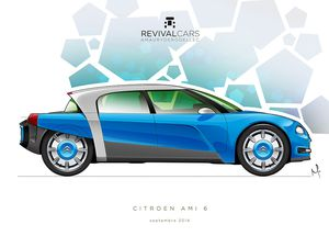 Citroën Ami 6, 3ème opus...