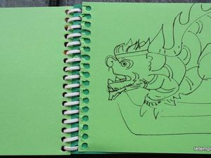 Carnet Le temps d'un dragon