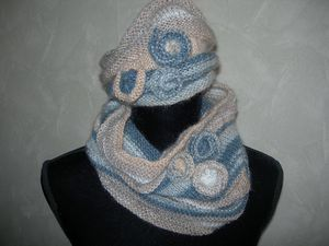 un snood et son bonnet