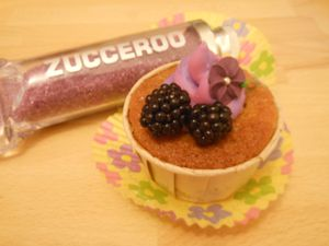 Cupcake aux mûres
