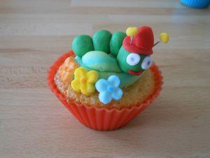 Cupcake chenille