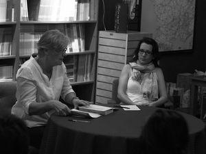 Photos du dernier café littéraire (Photos empruntées à la Librairie française)