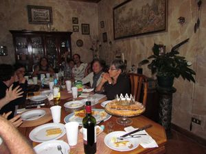 Première réunion 2017 chez Ulysse et Margarita