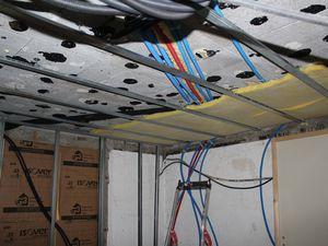 Cellier - Pose faux plafond