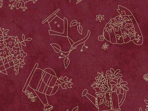 Nouvelle collection de tissus &quot&#x3B;A Quilter's Garden&quot&#x3B;