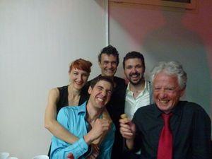 Les cous, les Maestros, le  régal de l'auberge espagnole, la soirée milonga, on s'éclate.