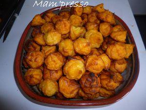 Pommes dauphines à la patate douce