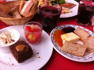 Le brunch de La Recyclerie