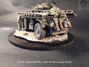 STAGHOUND au combat!