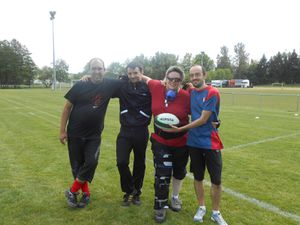 ENTRAINEMENT RUGBY TOUCH