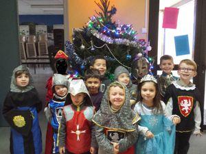 Les chevaliers et Princesses à la crèche