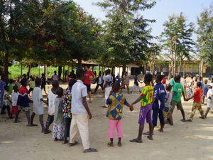 Résumé acticités enfants - Amou-Oblo