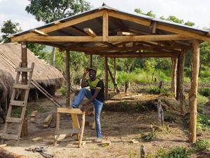 Construction école - Edouwossi-Copé