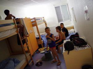 Ce matin petit déjeuner dans les chambres organisé par Océane, Amélie, Louise et Damien