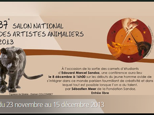 EXPOSITION SCULPTURE ANIMALIERE