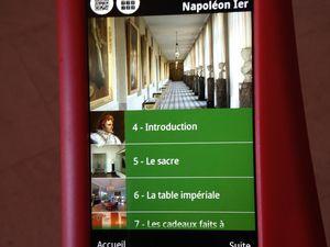 Mère et fille 2.0 - visite du château de Fontainebleau grâce aux QR codes #museogeek