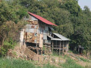 La campagne cambodgienne et sa vie traditionnelle