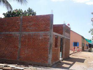 Construction de la nouvelle infirmerie....J - 4 !