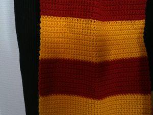 Echarpe Gryffondor dans Harry Potter