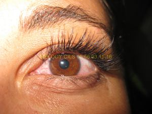 extension cils effet Glamour