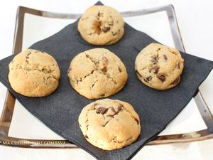 Cookies Choco-Noix aux Epices (Vanille-Gingembre)