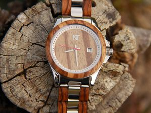 Review: Nature's Time Wood &amp&#x3B; Steel Watch