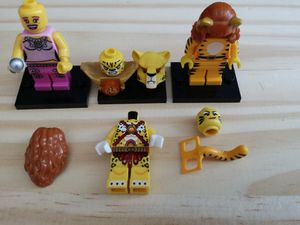 Lego Cheetah custom minifig - DC comics