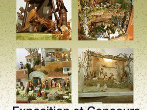Exposition de crèches organisée par &quot&#x3B;ABCTP&quot&#x3B; Amicale Bandol Culture Traditions Provençales.