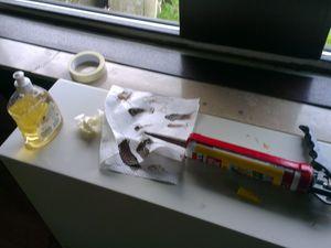 faire des joints de silicone facilement et proprement