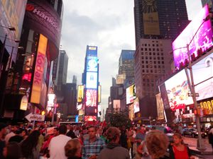 Time Square ! We spend more than two hours there. It vas very nice !