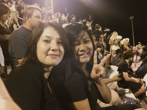 Football game at Arnold High School