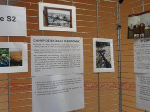 Les photographies et commentaires des 1S2 réalisés lors de la sortie à Verdun