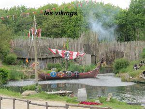 les vikings attaquent le village, on s'y croirait vraiment.