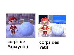 La famille Yétiti (séries Papabingo, Yétiti et Mamayéti...)