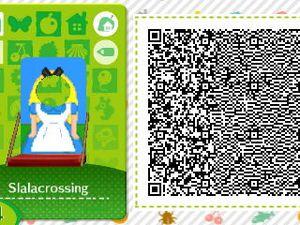 Les qr codes Thème : Alice au pays des merveilles