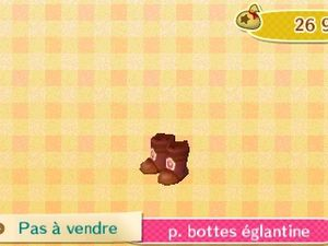 Photo 1 (le rayon Nintendo 3DS), photo 2 (la robe églantine) et photo 3 (la baguette églantine), photo 4 (merci Alizée), photo 5 (merci Alizée).