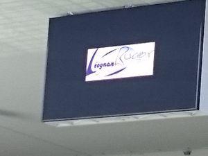 Les M14 Léognan La Brede - Leognan Rugby sur le grand écran du nouveau stade de Bordeaux