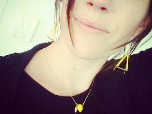 Le jaune, ma couleur pour l'été...