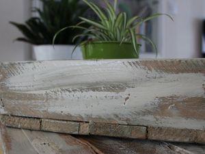 http://luniversdegarfield59.over-blog.com/ plateau palette kaki peinture bois récup clou