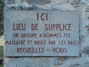 87 - Oradour-sur-Glane, village martyr.