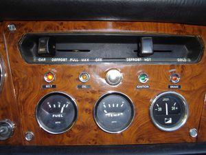 Tableau de bord Triumph Spitfire 1500