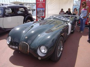 Morgan, Jaguar Type C 1952 , et Jaguar SS