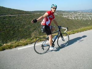 Il n'y a pas que la Drôme Provençale qui est le paradis du vélo mais ne le disons pas trop fort...