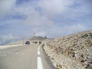 Vers le sommet (photos de Rémi).