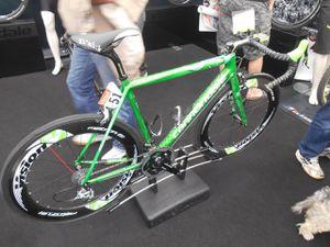 1 et 2- le vélo du Fantasque et Acrobate M. Hulk/Sagan !!!