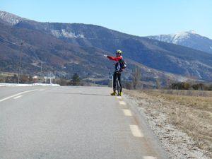 Derniers Kilomètres dans la vallée de l'Eygues puis ce sera Rosans et les Htes Alpes.