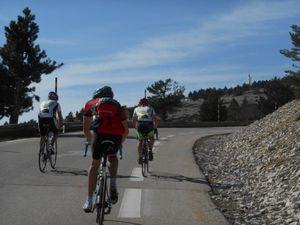 Et voilà les premiers km de la 2ème partie, beaucoup plus difficile que celle avant le Reynard.